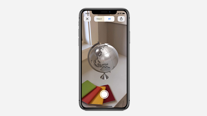 iOS 12 augmented reality