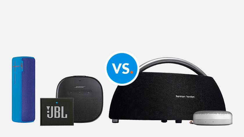 Comparaisons enceintes Bluetooth