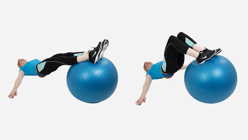 explication Leg Curl avec le ballon de fitness