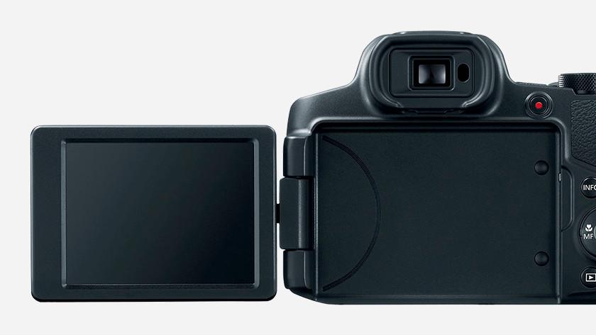 Kantelbaar scherm Canon PowerShot SX70 HS