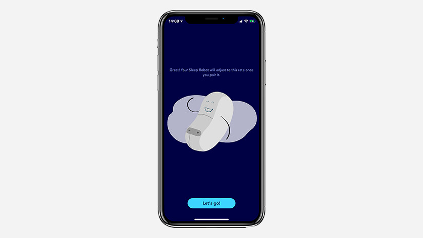 Somnox slaaprobot koppelen aan de app