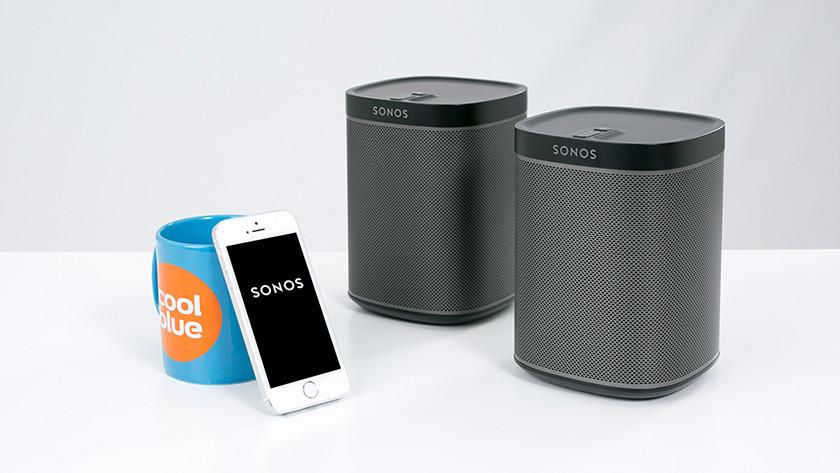 Enceintes Sonos avec appli