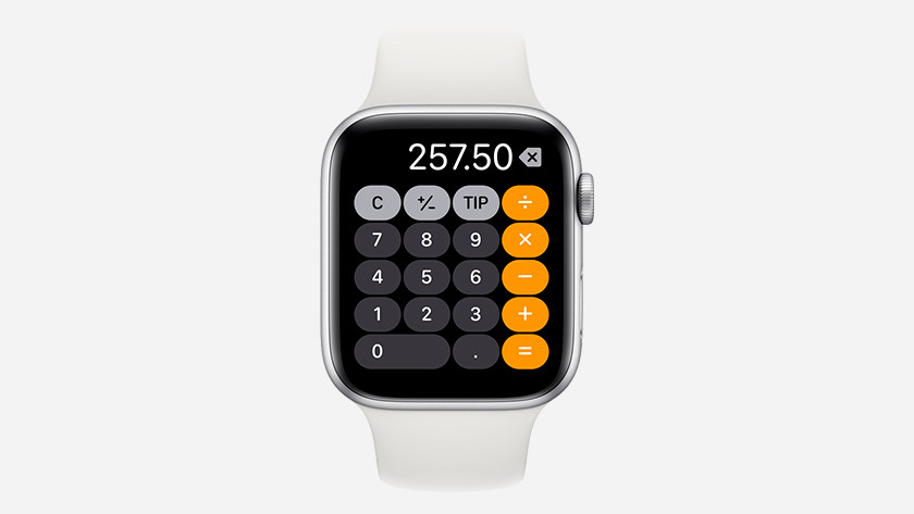 Apple Watch Calculette