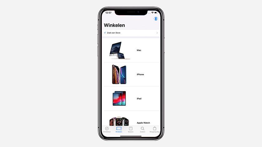 Apple Store app