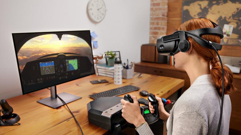 Met de juiste aansluitingen ben je klaar voor pc gaming in virtual reality