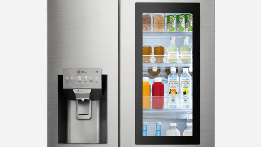 Porte de réfrigérateur à économie d'énergie