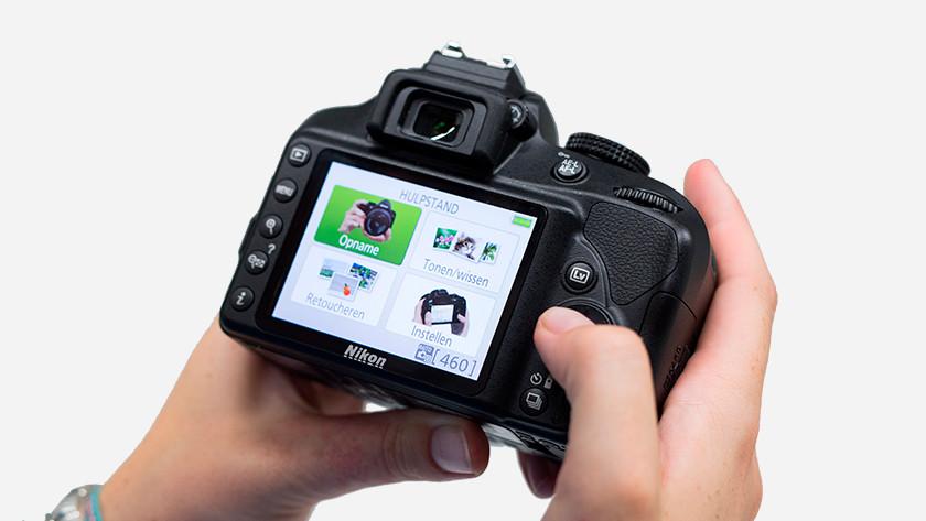 Mode Aide Nikon D3400
