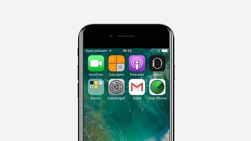 Étape 2 : j'ouvre l'appli Localiser mon iPhone