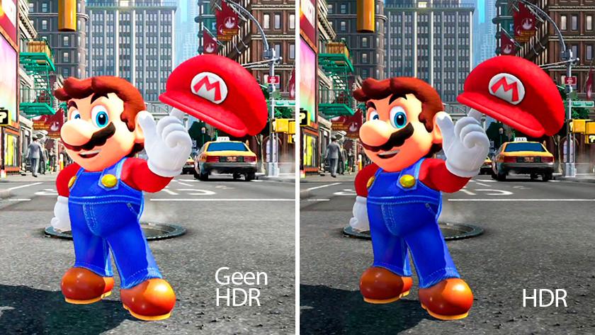 HDR Gaming Mario