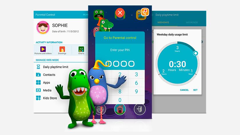 Contrôle parental Samsung Kids Mode