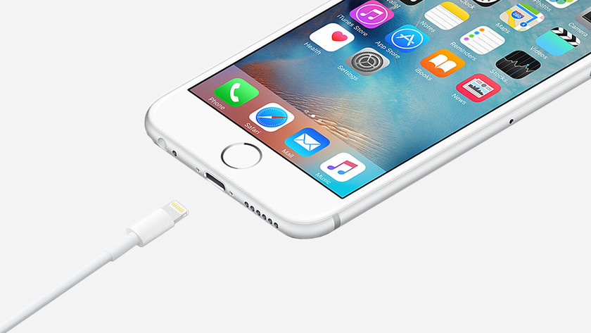 Kan mijn iPhone snelladen