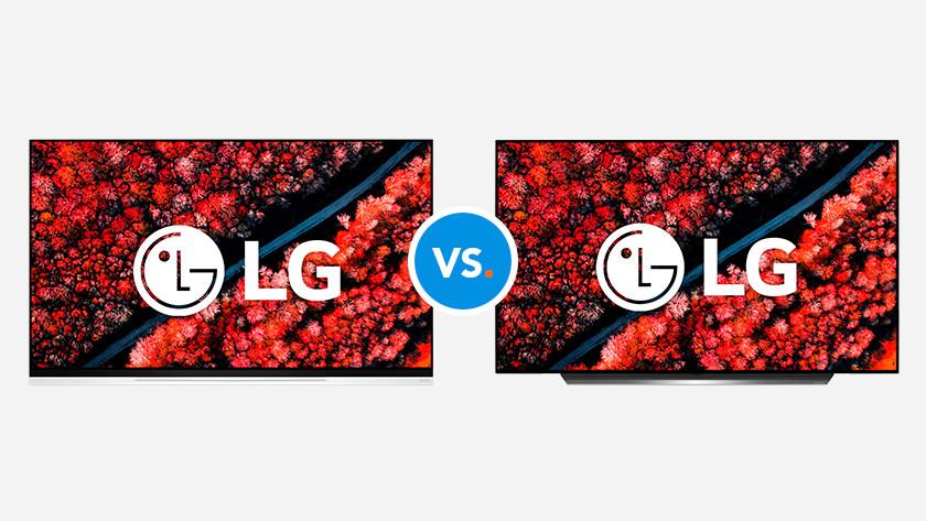 Comparez les télévisions LG