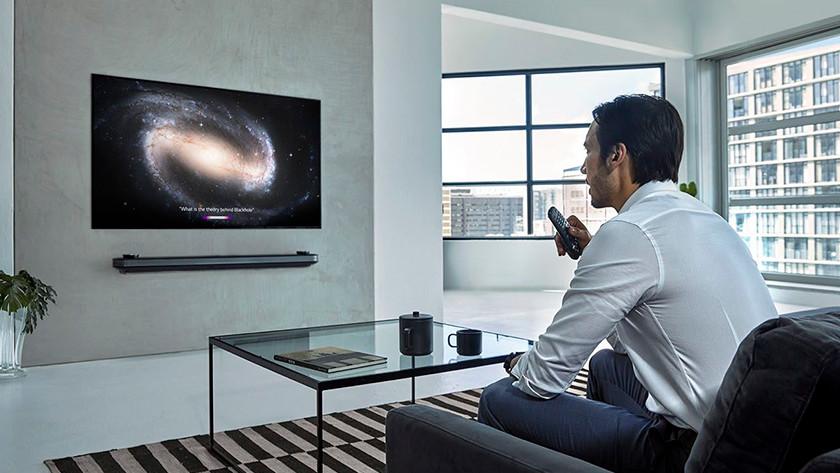 LG tv afstandsbedieningen