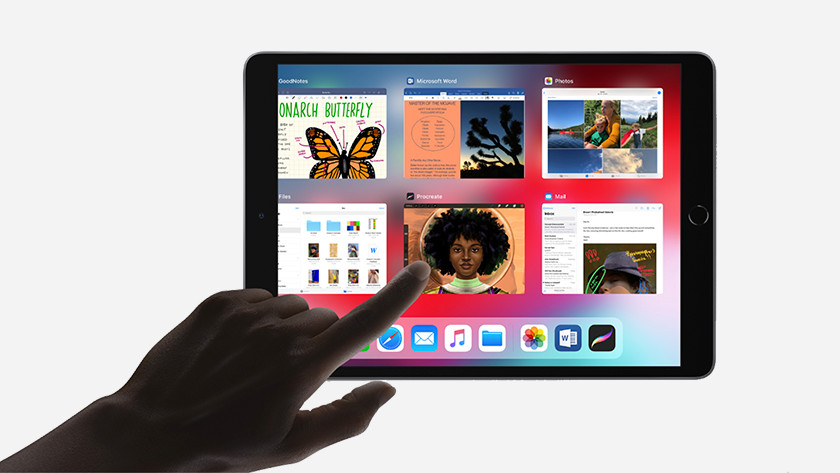 Browse on the iPad Air 2019