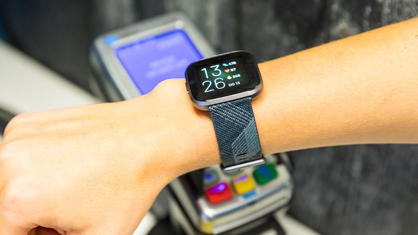 Contactloos betalen Fitbit