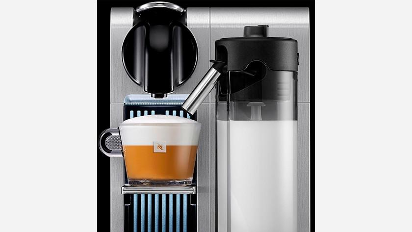 cappuccino zetten met een nespresso