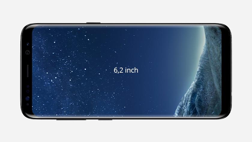 S8 Plus size