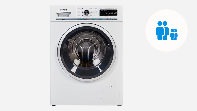 Machine à laver pour 2 personnes et 1 ou 2 enfants