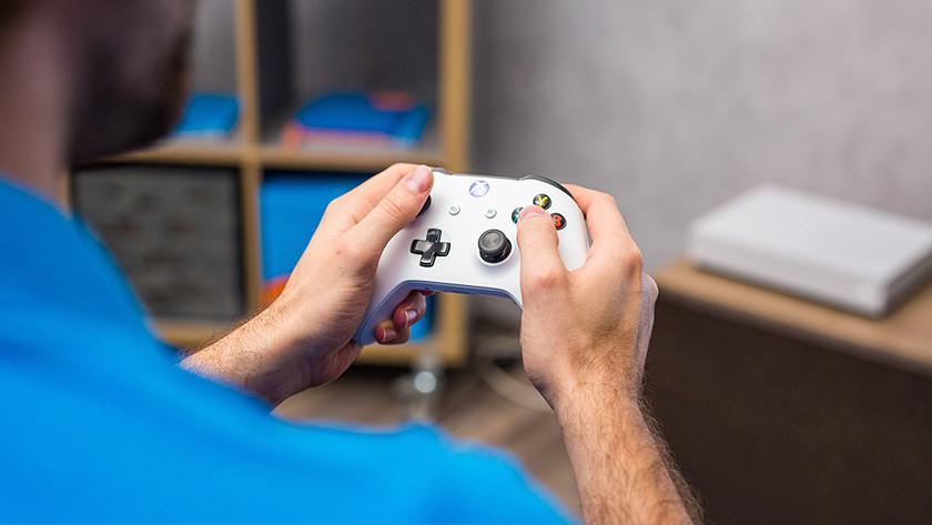 Gamen op een Xbox One