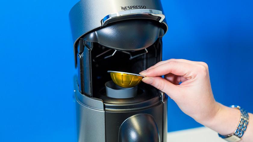 Nespresso Vertuo bedienen