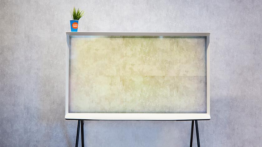 The Serif patroon van de muur op het scherm