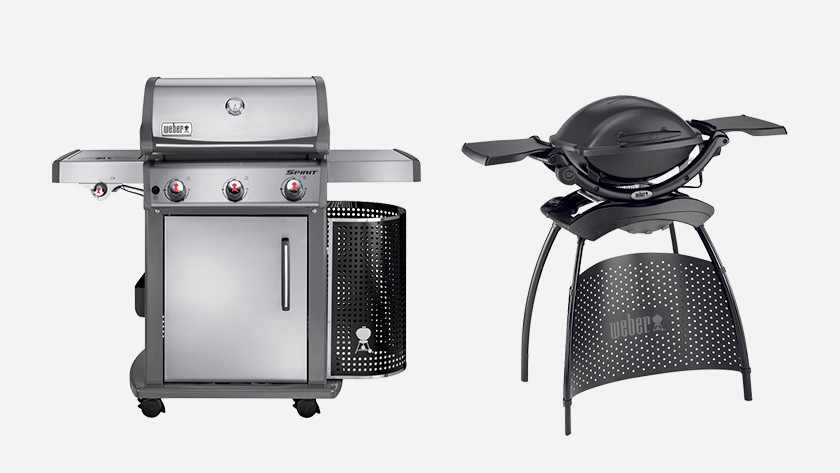 Gas barbecue vs electric barbecue