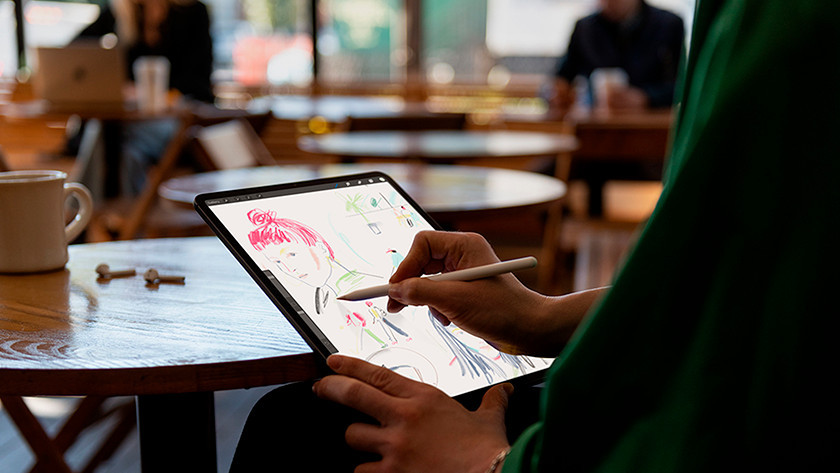 Pencil 2 gebruiken Apple iPad