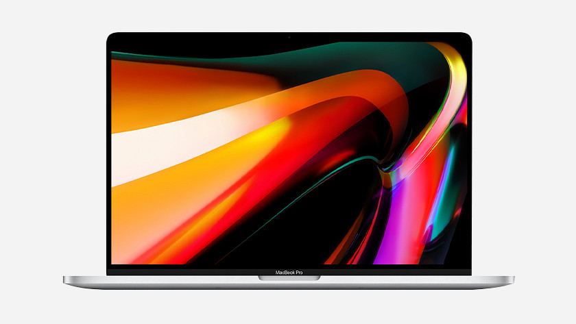Apple MacBook Pro 16 inch beeldscherm