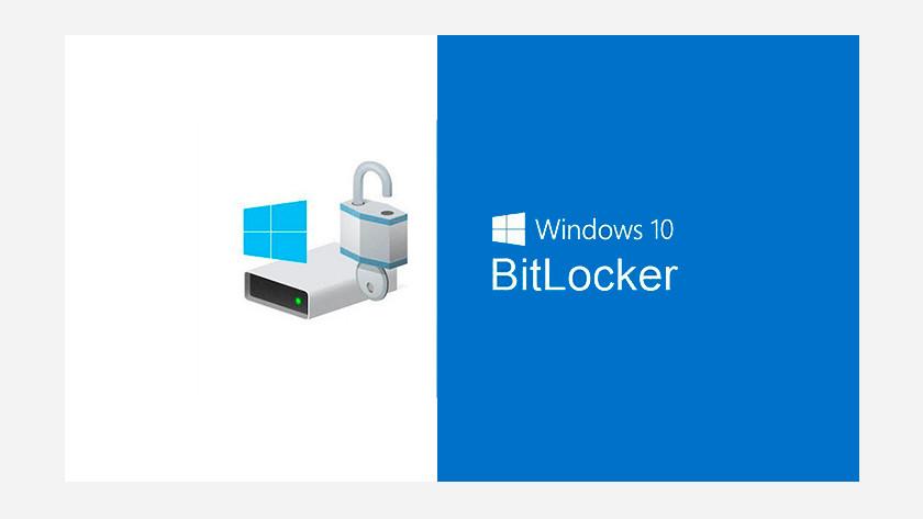 Logo van Windows 10 BitLocker.