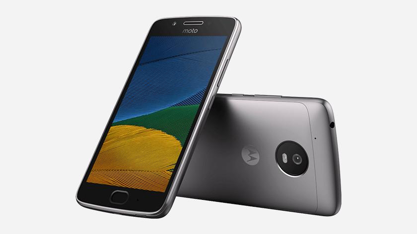 Moto G5 appearance
