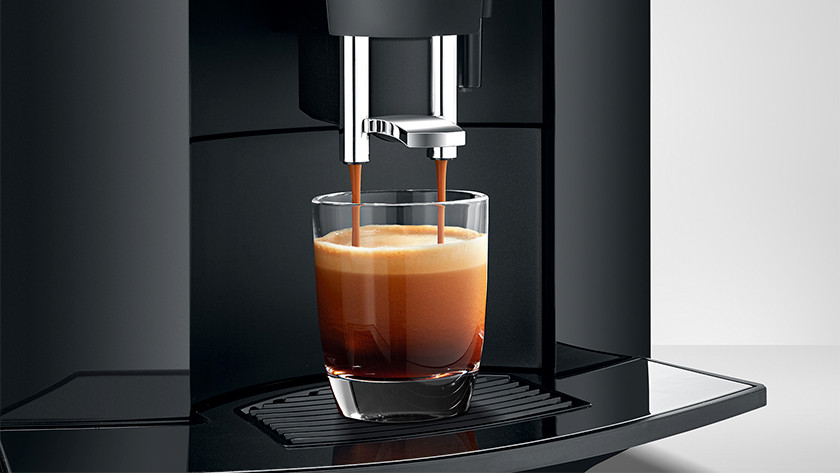 Kopje koffie uit volautomaat