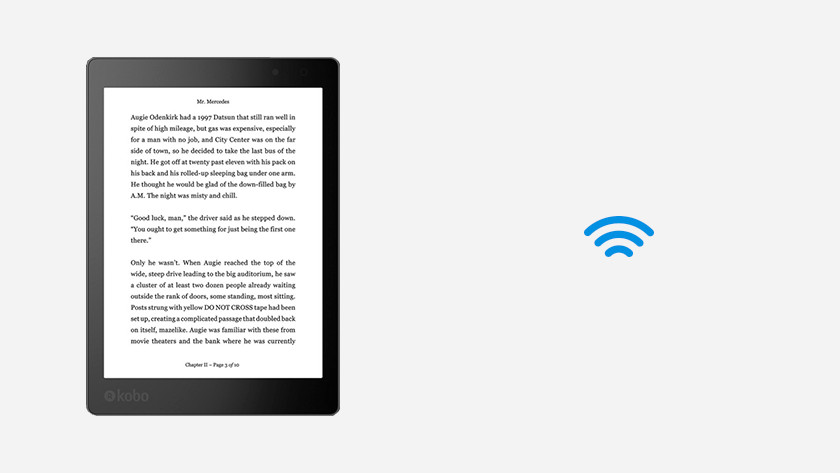 Draadloos e-books downloaden