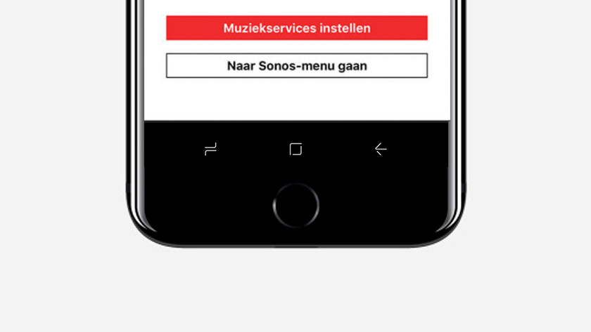 Last step: add a music service if you want