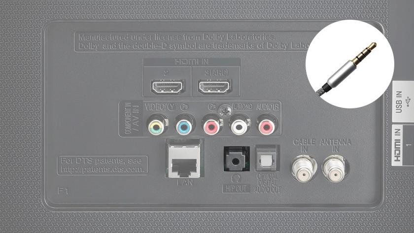 Audio kabel en poort