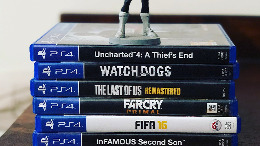 PS4 games spelen