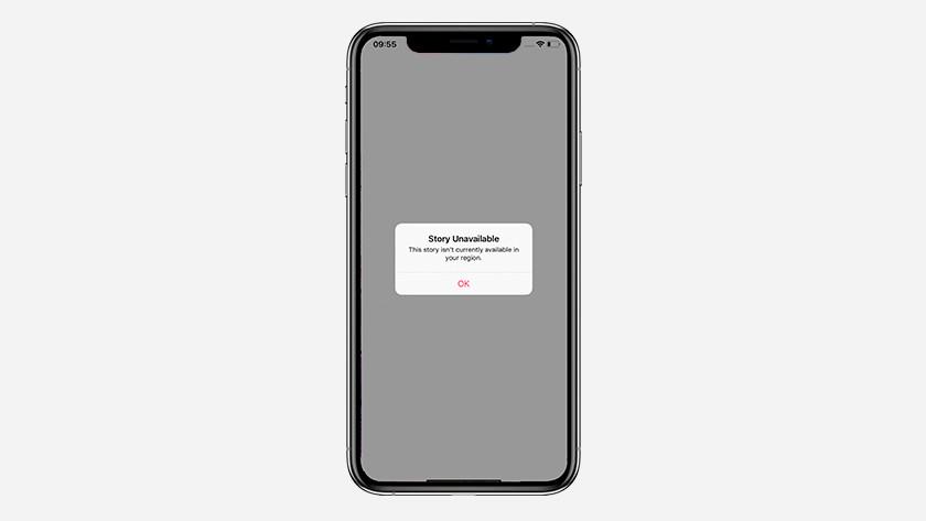 Beschikbaarheid Apple News