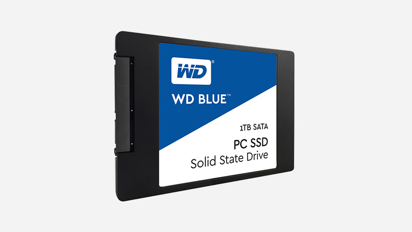 An SSD of WD.