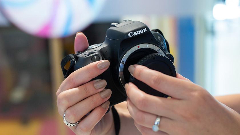 Hulp bij een Canon camera