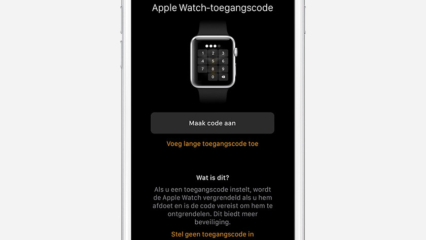Configuring the Apple Watch