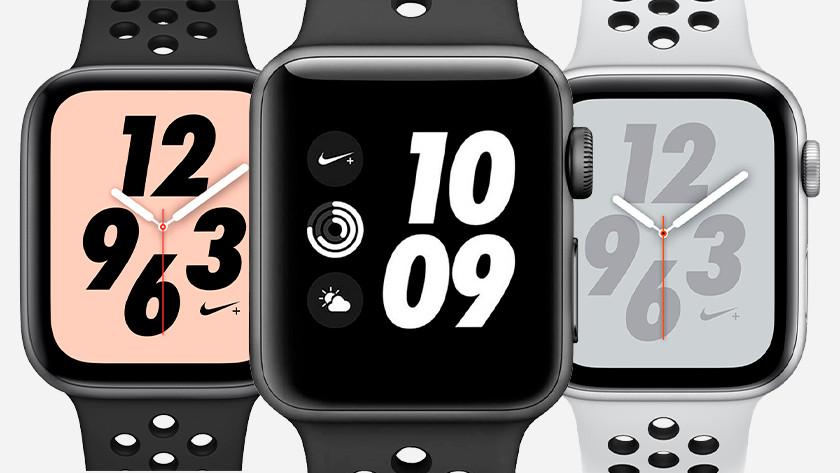 Cadrans Apple Watch Nike