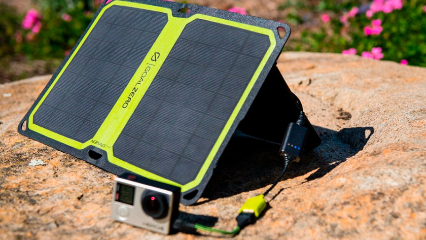Power bank solar energy