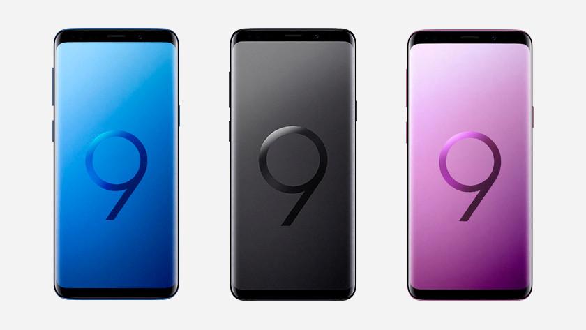 Samsung Galaxy S9 line up
