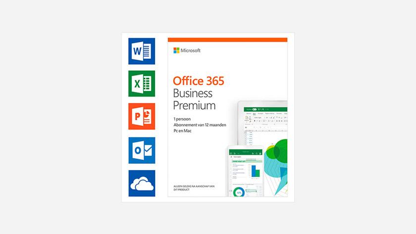 Microsoft Office 365 Business Premium packshot.