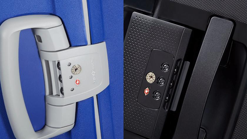 Set suitcase lock