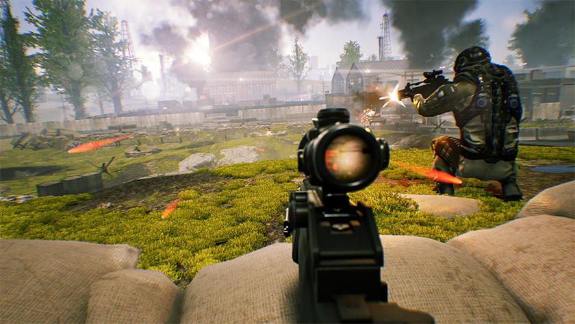 Zero Caliber shooter realistisch oorlog schieten