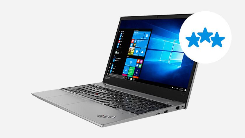 Lenovo ThinkPad avec 3 étoiles.