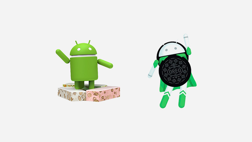 Plusieurs versions d'Android