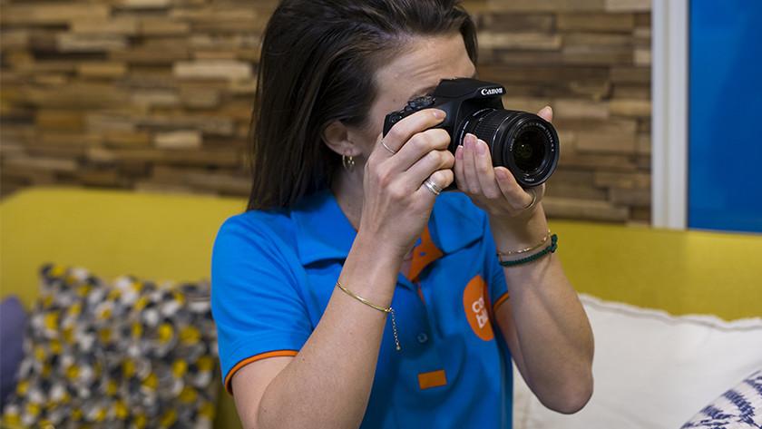 Gebruik Canon EOS 2000D