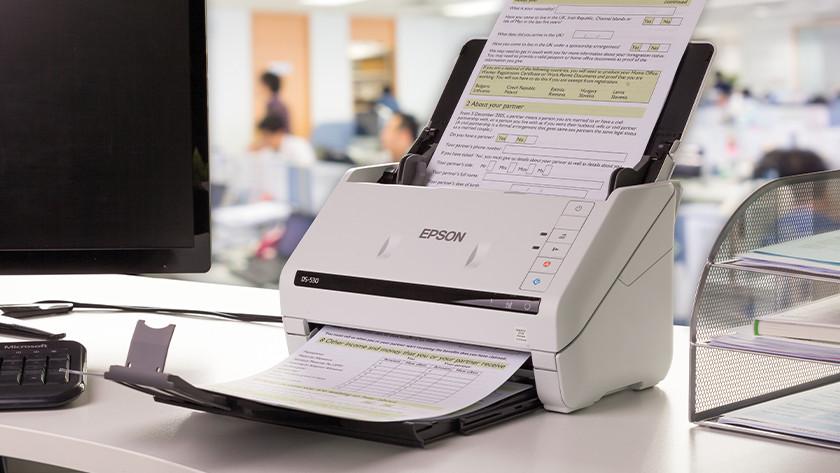 Documentscanner snelheid
