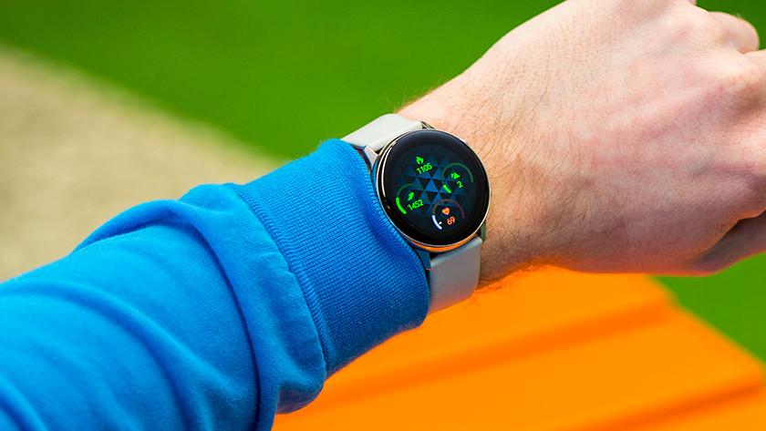 Galaxy Watch Active hartslag slaap stappen